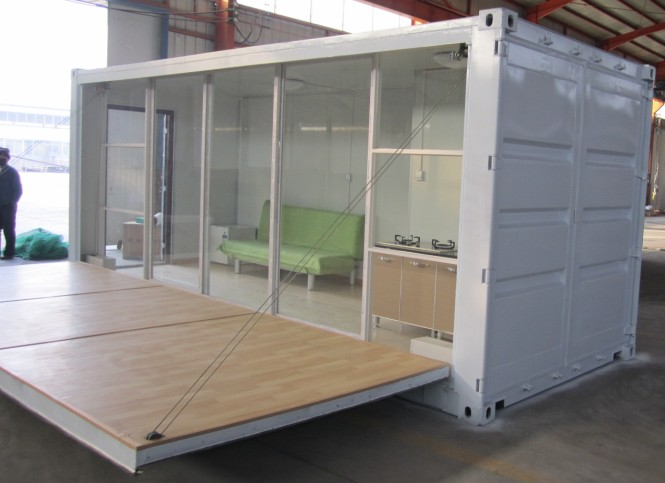 Studios and van on pinterest - Container van homes ...